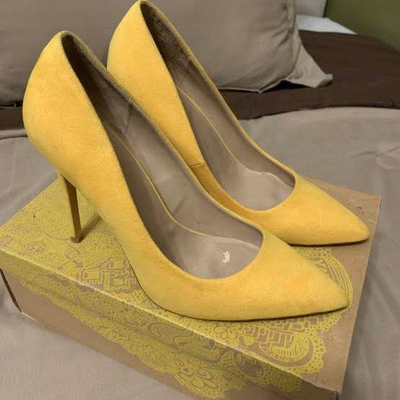Shoes | Mix No6 Yellow Pumps | Poshmark